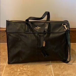 Kate Spade Large Black Duffel Bag